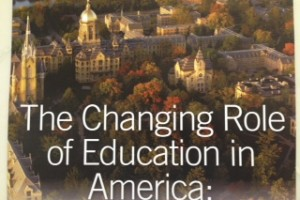 The Changing Role of Education in America
